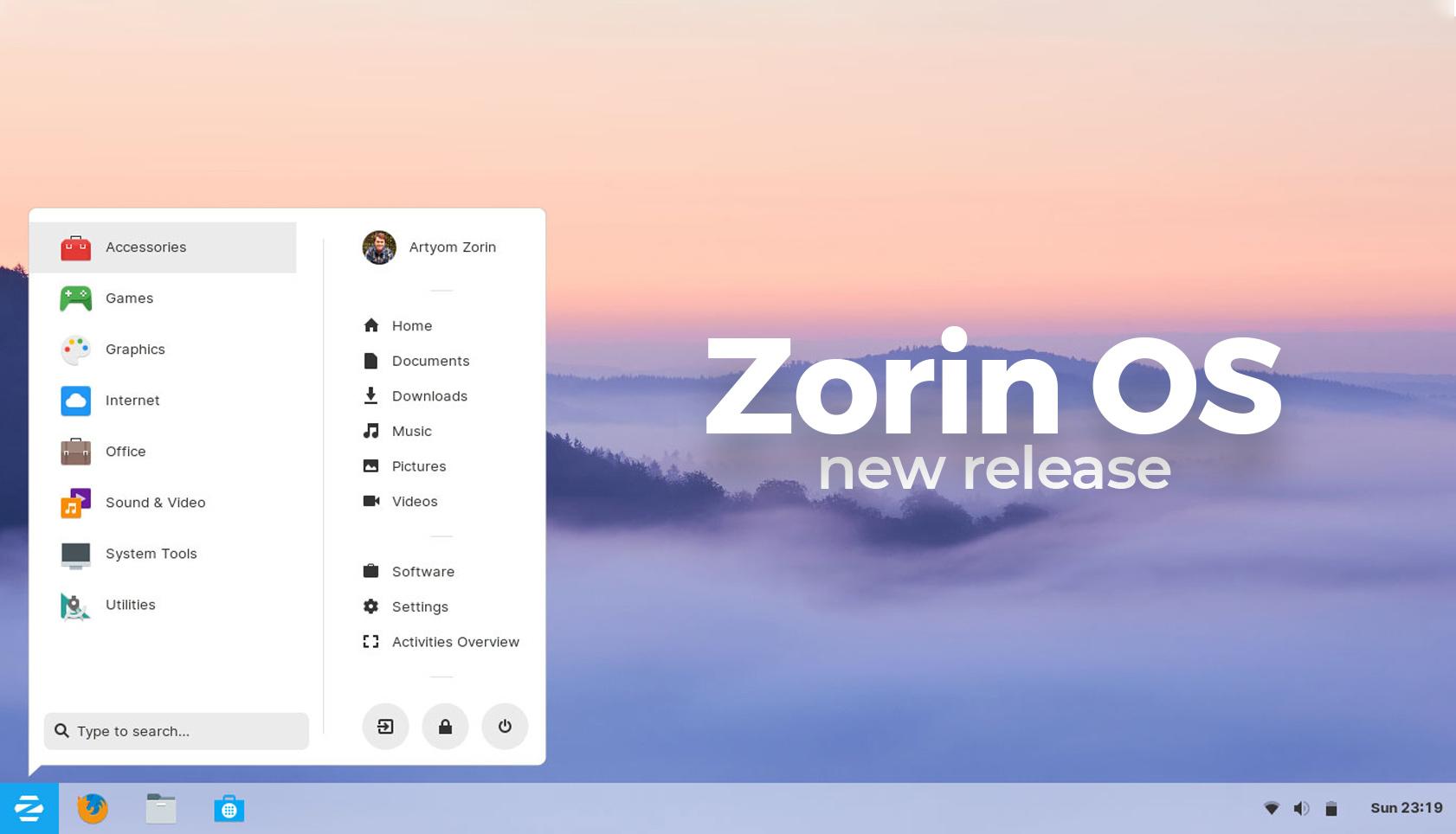 Zorin OS release