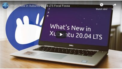 Xubuntu 20.04 video