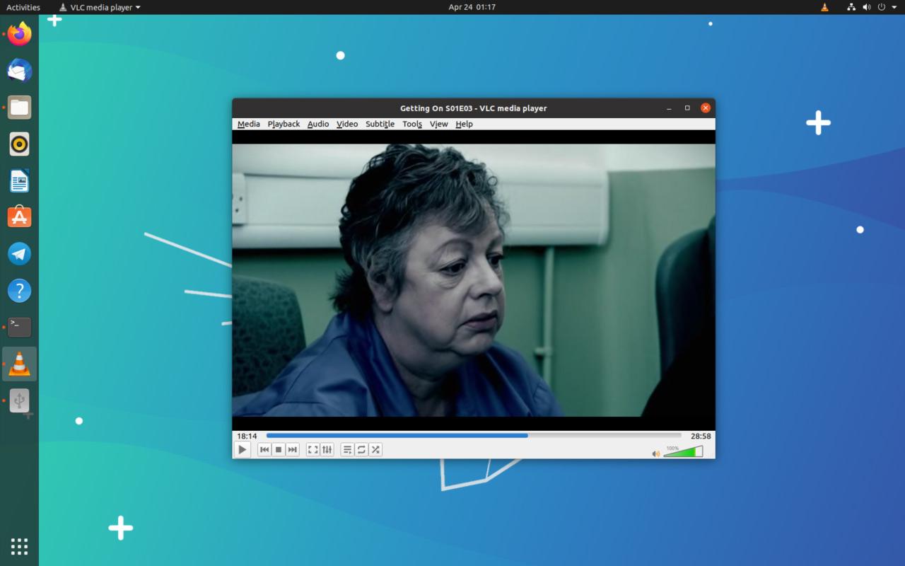 VLC 3.0.9 on Ubuntu