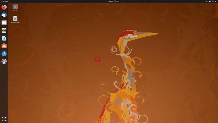 Ubuntu 20.04 Hardy Heron wallpaper
