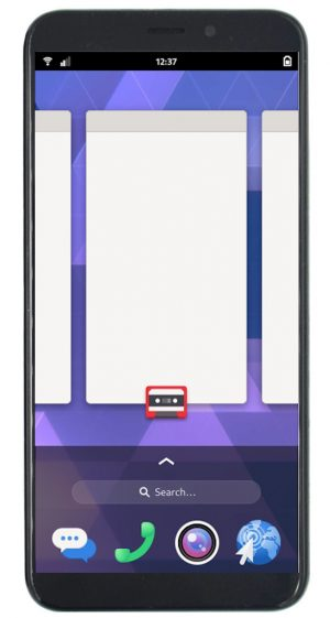 Linux Phone running Phosh