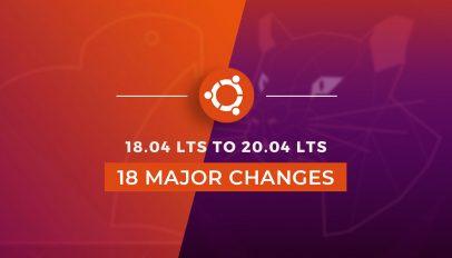 Ubuntu 20.04 vs 18.04 lts