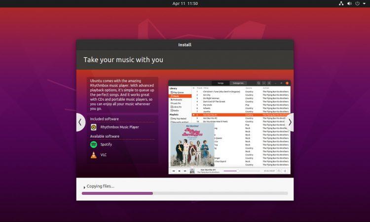 Ubuntu 20.04 Installer Screenshot