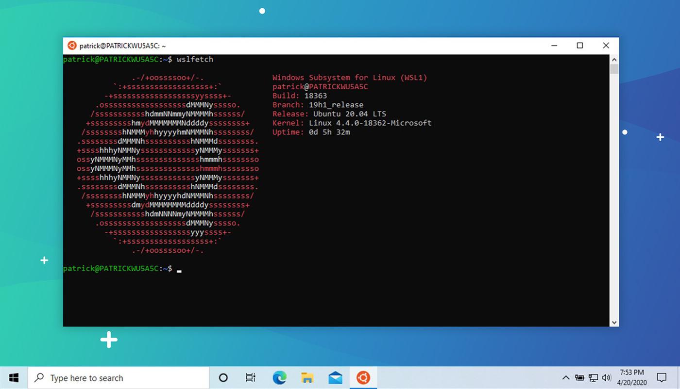 Ubuntu 20.04 WSL