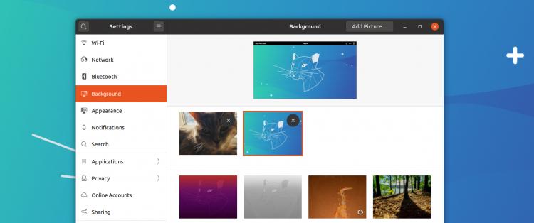 Wallpaper Settings In Ubuntu 20.04 750x314