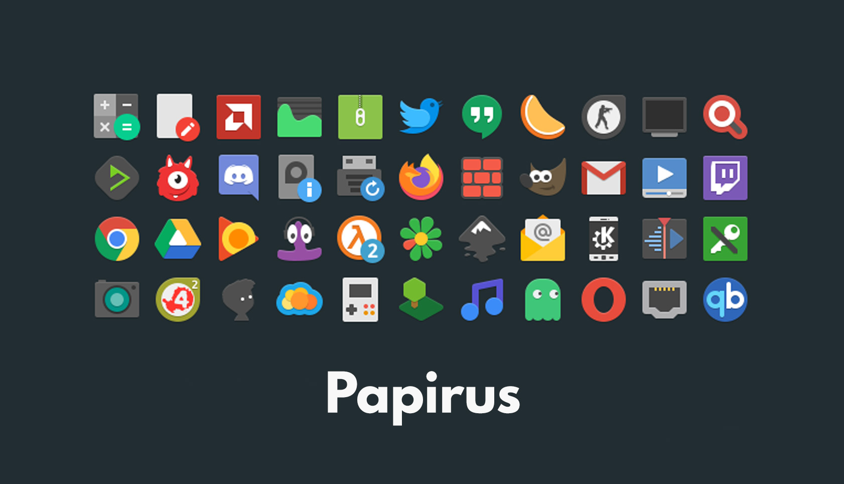 papirus icon theme