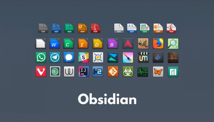 Obsidian Icon Theme