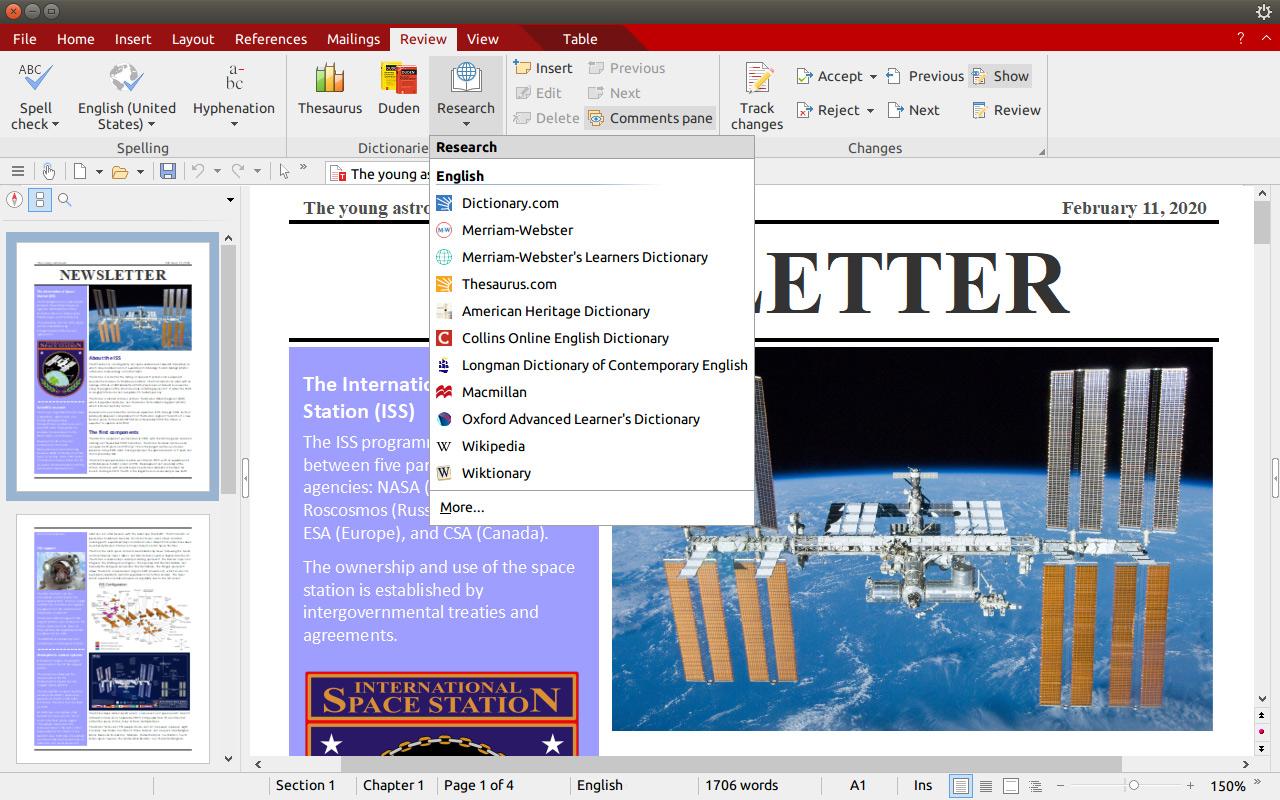 textmaker linux screenshot