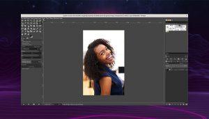 Glimpse Image Editor Screenshot