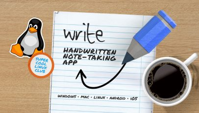 write note taking app