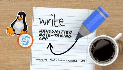 write note taking app