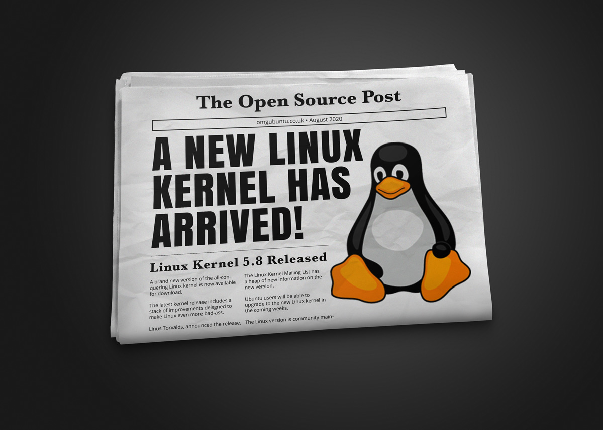 Linux kernel 5.8 announced
