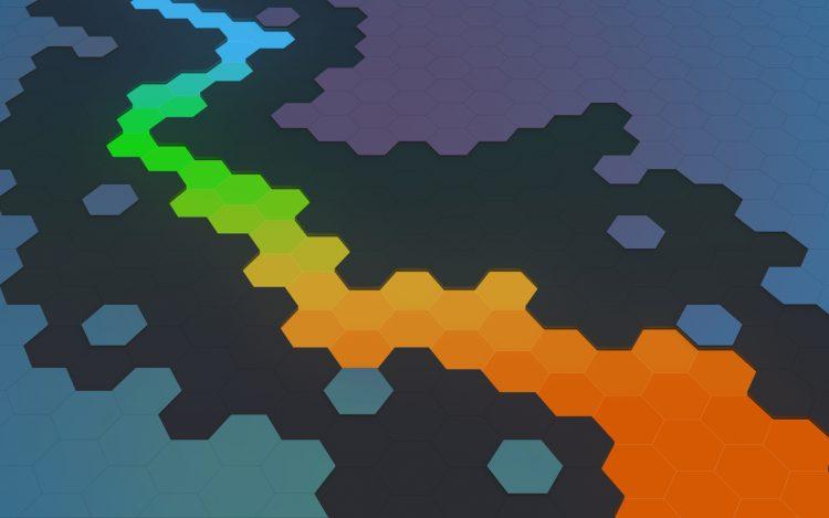 KDE Plasma flow wallpaper