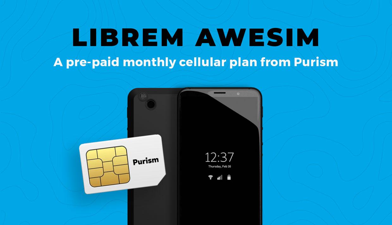 Librem AweSIM Cellular Service