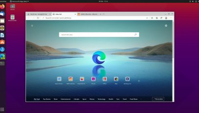 Microsoft Edge Dev for Linux