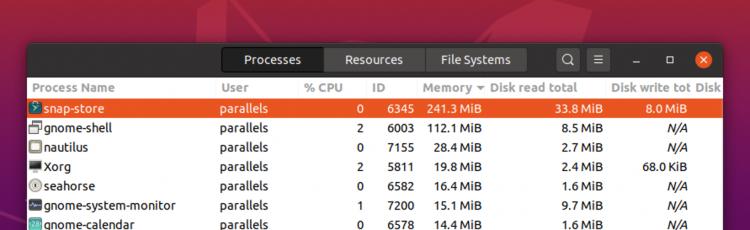 rma usage on ubuntu 20.04