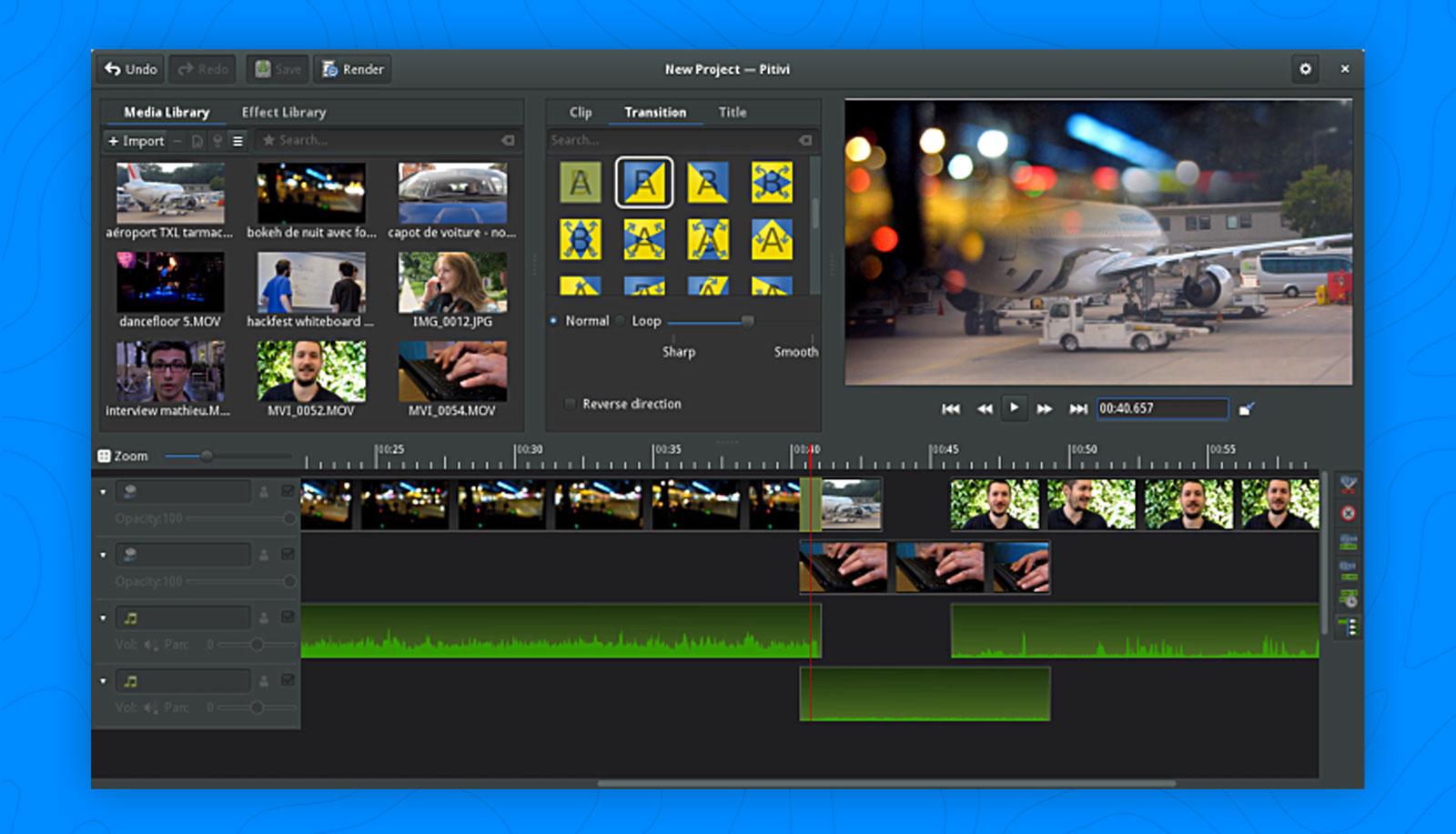 Pitivi Video Editor Gets a Blockbuster Update