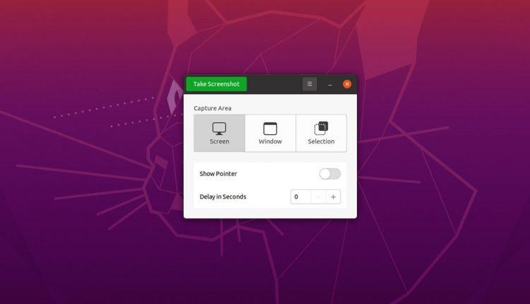 Ubuntu 20.10: new screenshot design