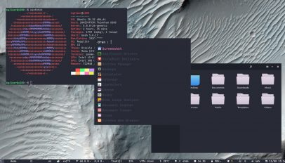 Regolith Linux 1.5 screenshot