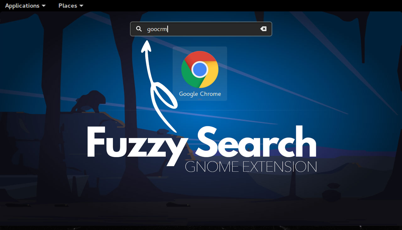 Fuzzy Search on GNOME Shell