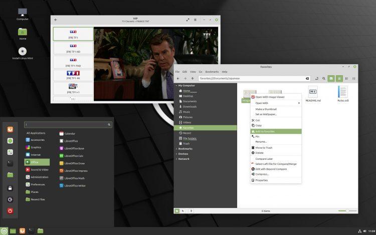 Linux Mint 20.1 Desktop Screenshot