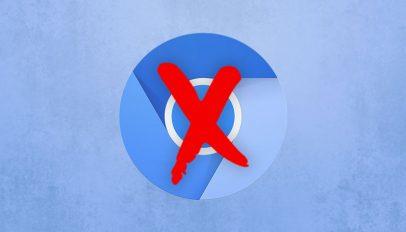 Chromium API rescinded