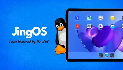 JingOS Linux iPad