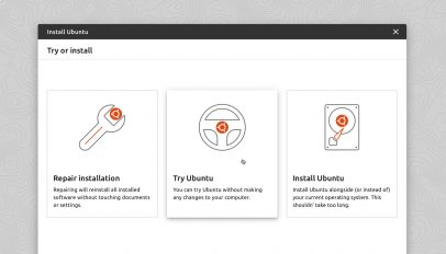 Ubuntu's new installer