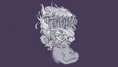 hirsute hippo artowkr