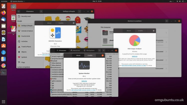 Ubuntu 21.04: GNOME 40 apps