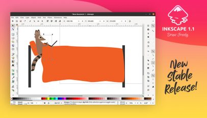 Inkscape 1.1 Released with Scores of New Features