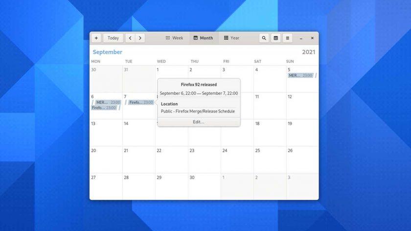 GNOME Calendar 41