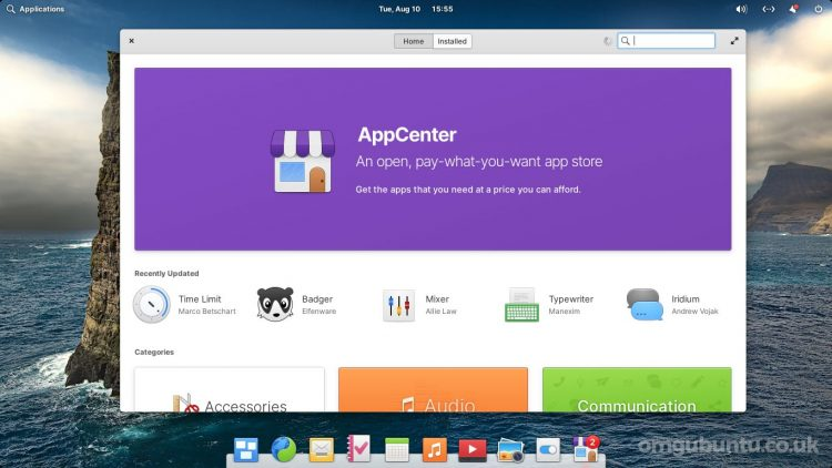 a screenshot of the App Center in elementary OS 6