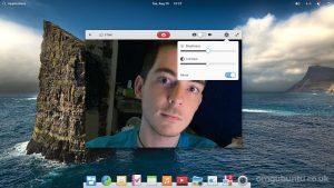 elementary OS 6 screenshot - camera app