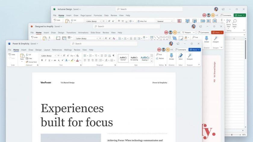 screenshot of Microsoft office 2021