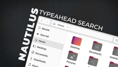 typeahead search in nautilus